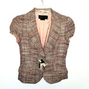 BCBGMAXAZRIA Short Sleeve Jacket